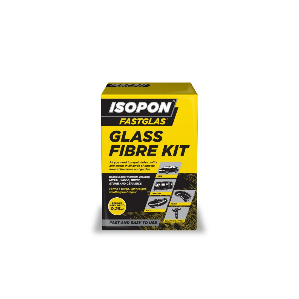 Isopon GL/SM/D Fastglas Glass Fibre Kit - Tetrosyl Express Ltd