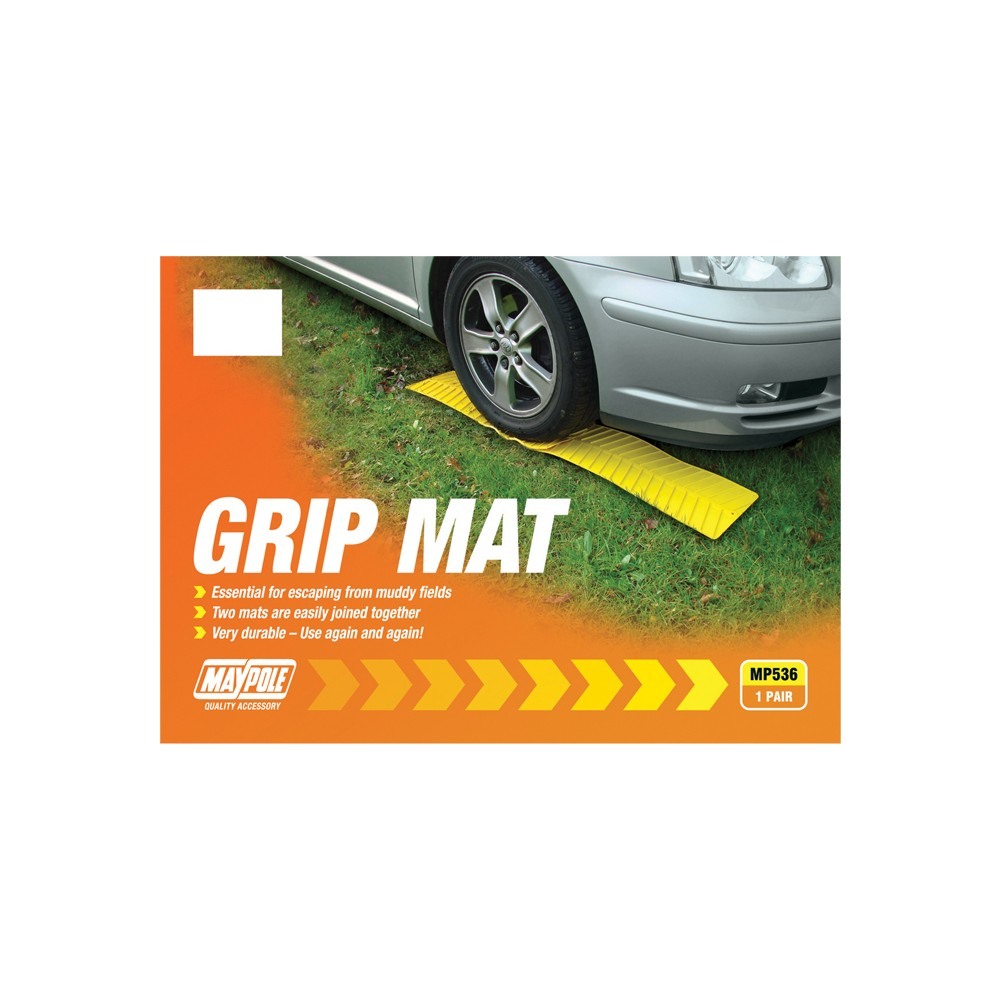 Image for Maypole MP536 Yellow Grip Mat Pk2