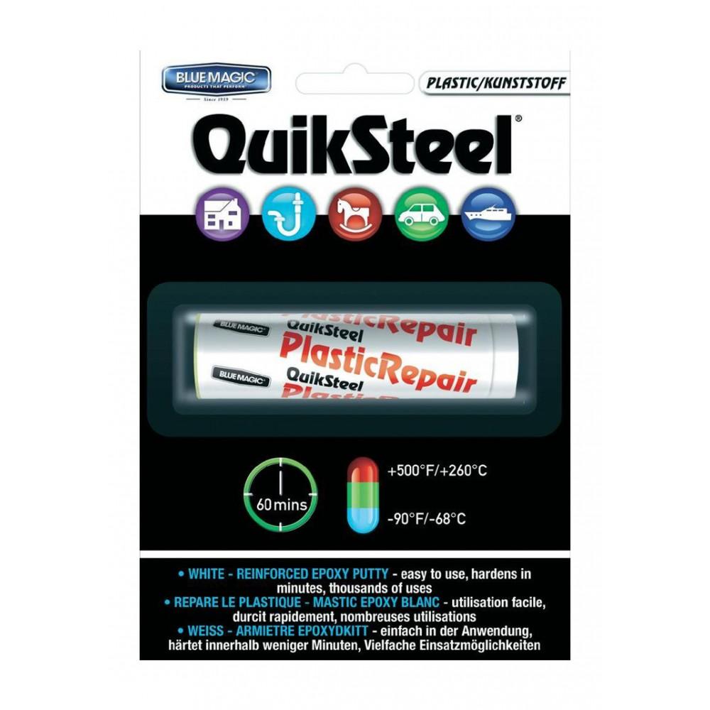 Quicksteel 16502 QuikSteel Plastic Epoxy Putty (carded