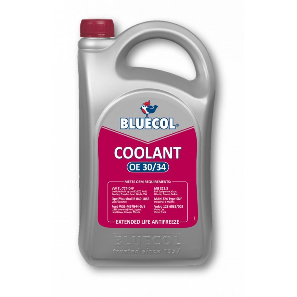 Bluecol BEL005 Coolant OE 30/34 5L - Tetrosyl Express Ltd