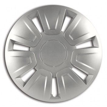 Equip 13 Stratos Wheel Trims Silver Set of 4