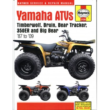 Honda TRX300 Shaft Drive ATV//Quads workshop//service//repair Haynes Manual 2125